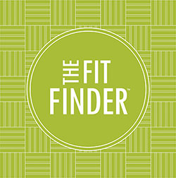 The fit finder logo