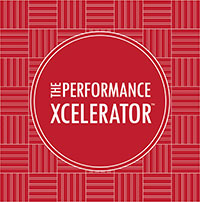 The performance xcelerator logo
