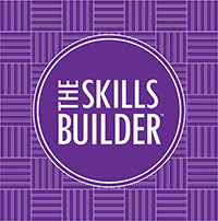 The skills builder logo