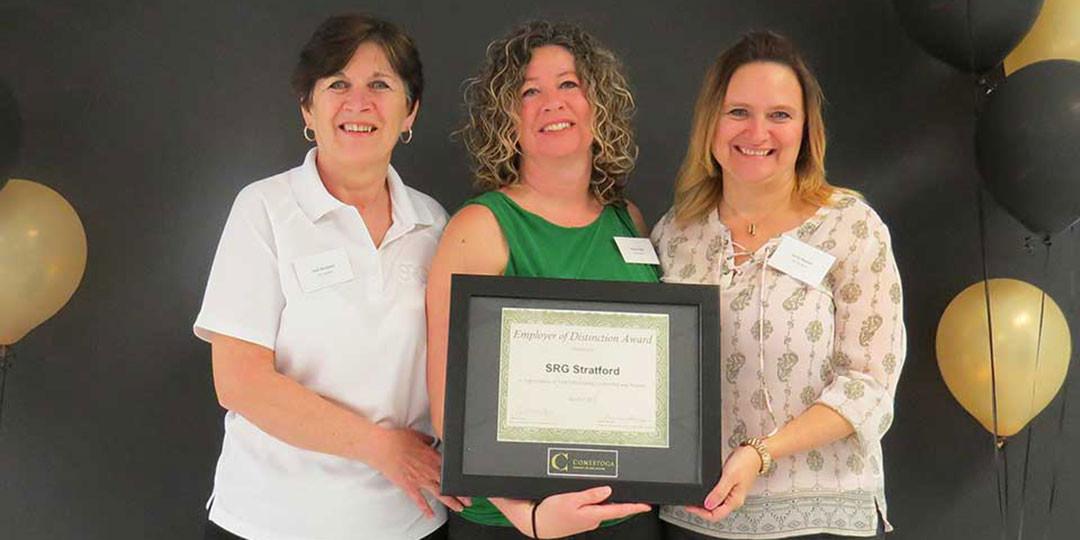 SRG Stratford Receives Employer Award of Distinction